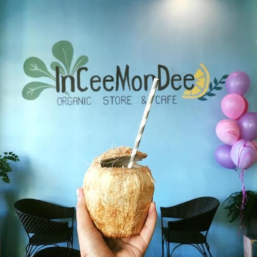 InCeeMonDee (อินทรีย์มันดี) ร้านออแกนิคคาเฟ่สำหรับคนรักสุขภาพและใส่ใจสิ่งแวดล้อม