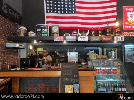 ร้านกาแฟ The Eight Cafe  คาเฟ่สบายๆทั้งคาว หวาน พร้อมเสริฟ์